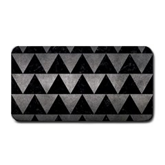 Triangle2 Black Marble & Gray Metal 1 Medium Bar Mats