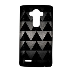 Triangle2 Black Marble & Gray Metal 1 Lg G4 Hardshell Case