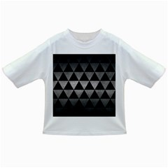 Triangle3 Black Marble & Gray Metal 1 Infant/toddler T Shirts