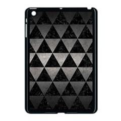 Triangle3 Black Marble & Gray Metal 1 Apple Ipad Mini Case (black)