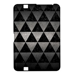 Triangle3 Black Marble & Gray Metal 1 Kindle Fire Hd 8 9