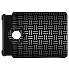 Woven1 Black Marble & Gray Metal 1 Kindle Fire Hd 7