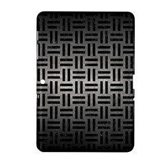 Woven1 Black Marble & Gray Metal 1 (r) Samsung Galaxy Tab 2 (10 1 ) P5100 Hardshell Case