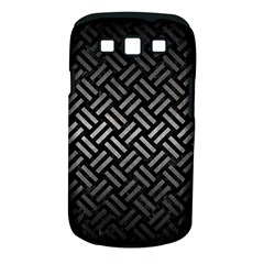 Woven2 Black Marble & Gray Metal 1 Samsung Galaxy S Iii Classic Hardshell Case (pc+silicone)