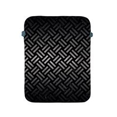 Woven2 Black Marble & Gray Metal 1 Apple Ipad 2/3/4 Protective Soft Cases