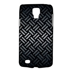 Woven2 Black Marble & Gray Metal 1 Galaxy S4 Active