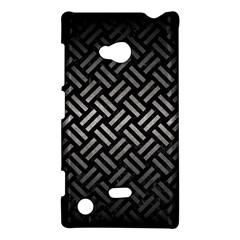 Woven2 Black Marble & Gray Metal 1 Nokia Lumia 720