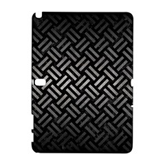 Woven2 Black Marble & Gray Metal 1 Galaxy Note 1