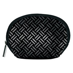 Woven2 Black Marble & Gray Metal 1 Accessory Pouches (medium)