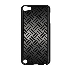 Woven2 Black Marble & Gray Metal 1 (r) Apple Ipod Touch 5 Case (black)