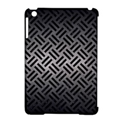Woven2 Black Marble & Gray Metal 1 (r) Apple Ipad Mini Hardshell Case (compatible With Smart Cover)