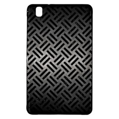 Woven2 Black Marble & Gray Metal 1 (r) Samsung Galaxy Tab Pro 8 4 Hardshell Case
