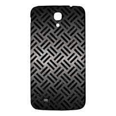 Woven2 Black Marble & Gray Metal 1 (r) Samsung Galaxy Mega I9200 Hardshell Back Case