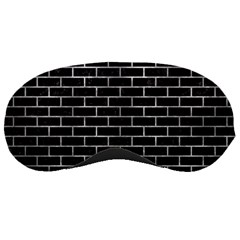 Brick1 Black Marble & Gray Metal 2 Sleeping Masks