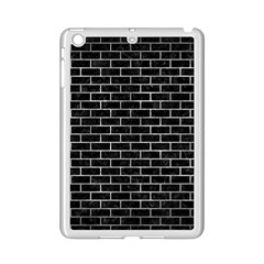Brick1 Black Marble & Gray Metal 2 Ipad Mini 2 Enamel Coated Cases