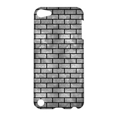 Brick1 Black Marble & Gray Metal 2 (r) Apple Ipod Touch 5 Hardshell Case