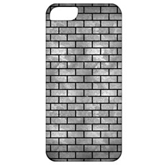 Brick1 Black Marble & Gray Metal 2 (r) Apple Iphone 5 Classic Hardshell Case