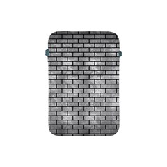 Brick1 Black Marble & Gray Metal 2 (r) Apple Ipad Mini Protective Soft Cases