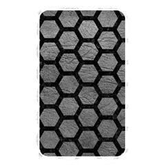 Hexagon2 Black Marble & Gray Leather (r) Memory Card Reader