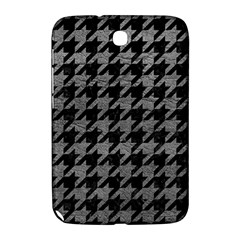 Houndstooth1 Black Marble & Gray Leather Samsung Galaxy Note 8 0 N5100 Hardshell Case