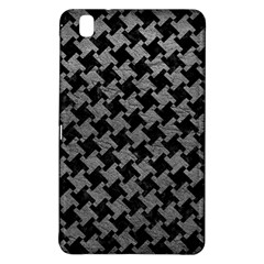 Houndstooth2 Black Marble & Gray Leather Samsung Galaxy Tab Pro 8 4 Hardshell Case