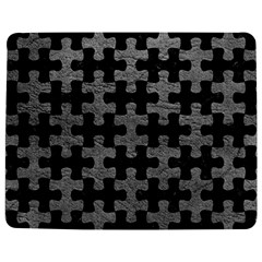 Puzzle1 Black Marble & Gray Leather Jigsaw Puzzle Photo Stand (rectangular)