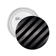 Stripes3 Black Marble & Gray Metal 1 2 25  Buttons