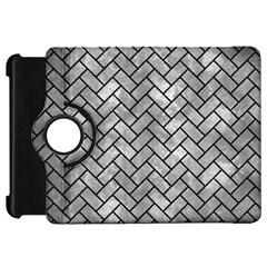 Brick2 Black Marble & Gray Metal 2 (r) Kindle Fire Hd 7