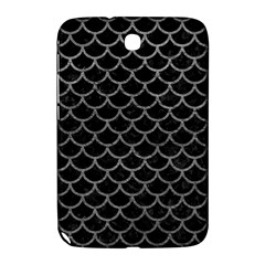Scales1 Black Marble & Gray Leather Samsung Galaxy Note 8 0 N5100 Hardshell Case