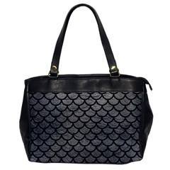 Scales1 Black Marble & Gray Leather (r) Office Handbags