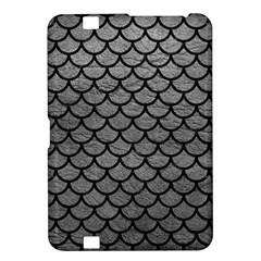 Scales1 Black Marble & Gray Leather (r) Kindle Fire Hd 8 9
