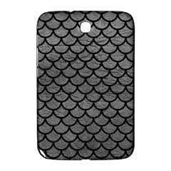 Scales1 Black Marble & Gray Leather (r) Samsung Galaxy Note 8 0 N5100 Hardshell Case
