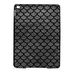 Scales1 Black Marble & Gray Leather (r) Ipad Air 2 Hardshell Cases