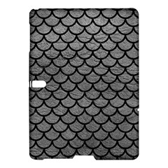 Scales1 Black Marble & Gray Leather (r) Samsung Galaxy Tab S (10 5 ) Hardshell Case