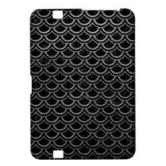 Scales2 Black Marble & Gray Leather Kindle Fire Hd 8 9