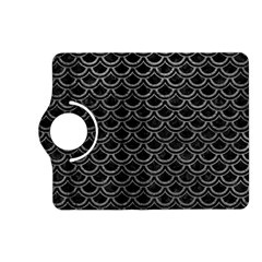 Scales2 Black Marble & Gray Leather Kindle Fire Hd (2013) Flip 360 Case
