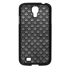 Scales2 Black Marble & Gray Leather (r) Samsung Galaxy S4 I9500/ I9505 Case (black)