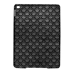 Scales2 Black Marble & Gray Leather (r) Ipad Air 2 Hardshell Cases