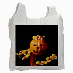 Igp0091 Pumpkinv Recycle Bag (two Side)