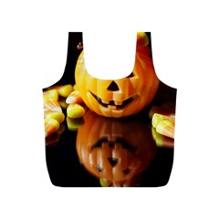 Igp0091 Pumpkinv Full Print Recycle Bags (s)