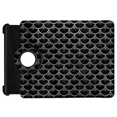 Scales3 Black Marble & Gray Leather Kindle Fire Hd 7