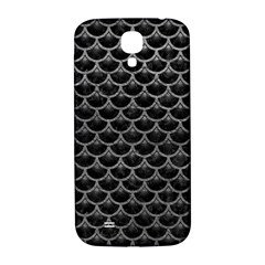 Scales3 Black Marble & Gray Leather Samsung Galaxy S4 I9500/i9505  Hardshell Back Case