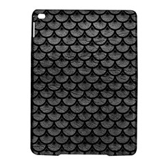 Scales3 Black Marble & Gray Leather (r) Ipad Air 2 Hardshell Cases