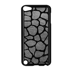 Skin1 Black Marble & Gray Leather Apple Ipod Touch 5 Case (black)