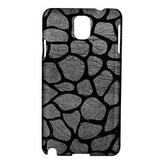 Skin1 Black Marble & Gray Leather Samsung Galaxy Note 3 N9005 Hardshell Case