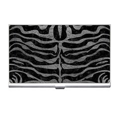 Skin2 Black Marble & Gray Leather Business Card Holders