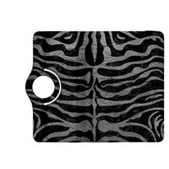 Skin2 Black Marble & Gray Leather Kindle Fire Hdx 8 9  Flip 360 Case