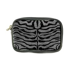 Skin2 Black Marble & Gray Leather (r) Coin Purse
