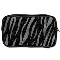 Skin3 Black Marble & Gray Leather Toiletries Bags