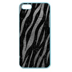 Skin3 Black Marble & Gray Leather Apple Seamless Iphone 5 Case (color)